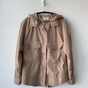 Zara - Tan Military Style Jacket